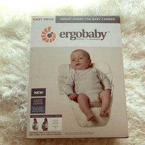 Ergobaby infant insert for baby carrier